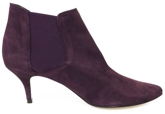 Burgundy boots from Cinderella Shoes
