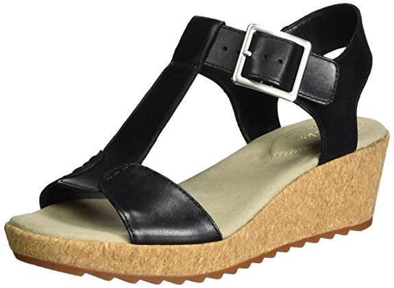 Clarks kiki wedges
