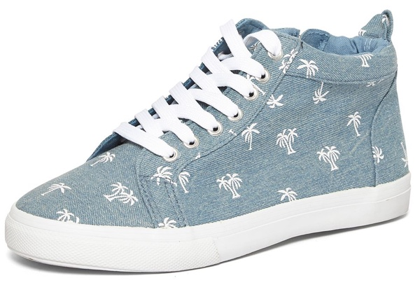 Denim high tops from Evans
