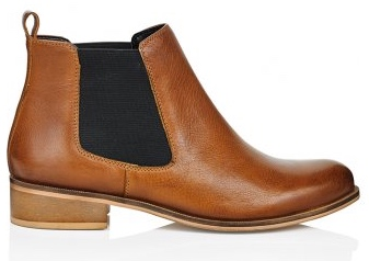Tan chelsea boots from Long Tall Sally