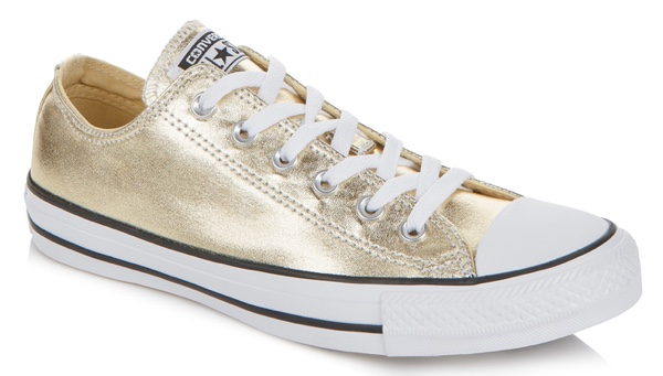 Gold converse from Long Tall Sally