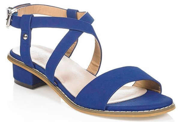 Block heel sandals from Long Tall Sally