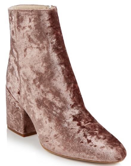 Velvet ankle boots from Long Tall Sally