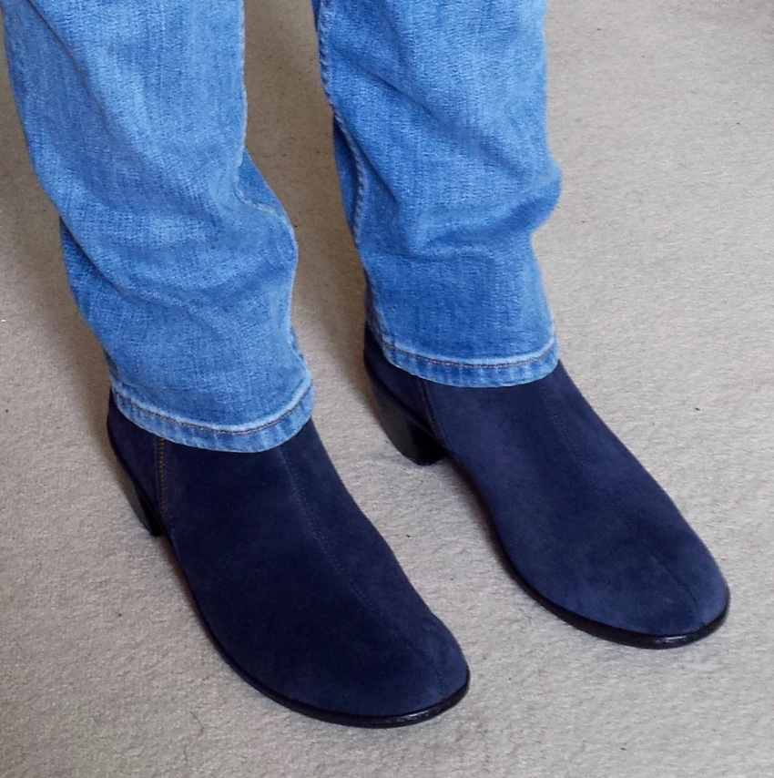 Hotter Samia ankle boots with jeans