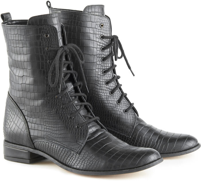 Yaga lace up ankle boots