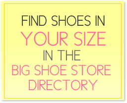 Find shoes in your size in the big shoe store directory